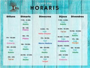 Horaris OM_Banyoles